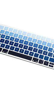 Spanish Language Rainbow gradient Ultra Thin Silicone Keyboard Skin Cover for Magic Keyboard 2015 Version EU Layout