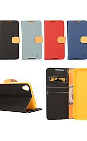yi tarjeta cai cinturón de cuero bastoncito abierto para d820 htc (colores surtidos)
