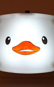 חיסכון באנרגיה הוביל למצב לילה קריקטורת ברווז מופעל אור מנורת אור