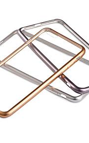 gennemsigtig elektroplet tpu med bagsiden for iphone6 / 6s (assorterede farver)