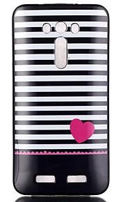elsker mønster TPU telefon tilfældet for zenfone 2 laser ze550kl
