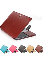 """крышка случая кожаный ноутбук пу для MacBook Air 11 """"13"""" сетчатки / 15 """""""