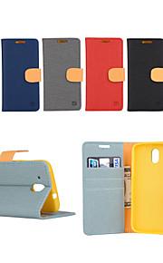 yi tarjeta cai cinturón de cuero bastoncito abierto para D526 htc (colores surtidos)