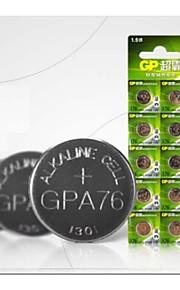 A76 LR44 L1154 AG13 1.5v ev piller 10pcs gp