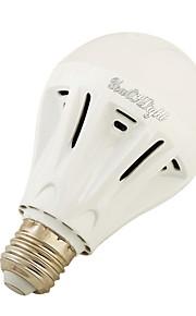 5W E27 LED-globepærer A60(A19) 16 SMD 5730 500 lm Varm hvit Kjølig hvit AC220 V 1 stk.