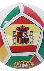 Joerex ® Size 2# PVC Multi National Flag-printed Soccer Ball Football JAB30364