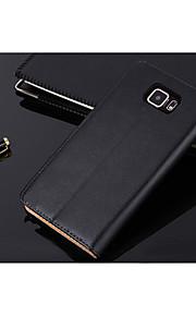 Samsung Samsung Galaxy S6 - Custodie integrali - Tinta unita - Cellulari Samsung ( Nero , Vera pelle )