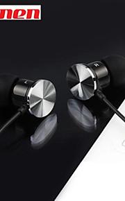 Kanen ip-609 ad alte prestazioni in trasduttori auricolari auricolari con tasto del telecomando e microfono per iPhone di Samsung