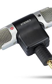 Kingma Osmo microfone sem fio externo de 90 graus dobrar a gravação flexível dupla trigo