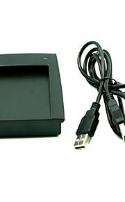 Lector rfid lector usb Identificación em formato de salida de 125KHz 4 bytes tarjeta de escritorio usb 8h10d decimal 15 estilo sin