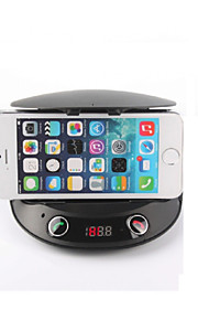 Remote Controller Bluetooth V2.1 Handsfree Car Kit Phone Holder & MP3 Player & FM Transmitter & Speaker & Change & Tf