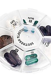 Porta-Comprimidos para Viagem Portátil Dobrável para Acessórios de Emergência para Viagens