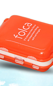 Travel Pill Box/CaseForTravel Accessories for Emergency Plastic 10 x 6.5 x 3.5cm