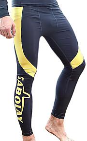 SBART Men's Bottoms / Pants / Swimwear / Drysuits Diving Suit Ultraviolet Resistant / Compression Drysuits 1.5 to 1.9 mm BlackM / L / XL