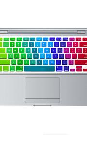 arcobaleno pelle luminosa copertura della tastiera del silicone di disegno per l'aria del macbook 13.3, MacBook Pro con retina 13 15 17