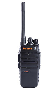 Baiston BST-508 Professional Super Power Waterproof Shockproof 6W Walkie Talkie - Black
