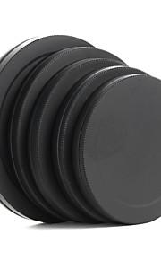 metal linse filter Bag kasket beskyttende bærbar boks 52/55/58/62 / 67mm
