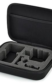 midterste størrelse samling boks til GoPro hero 3 + / 3/2/1, størrelse: 22,5 * 17,5 * 6,7 cm, materiale: eva opbevaringspose