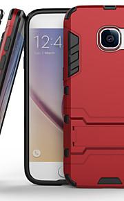 modelli staffa gel di silice pc combinata guerra armatura cassa del telefono di protezione per la galassia S6 / S6 bordo / bordo S6 + / S7