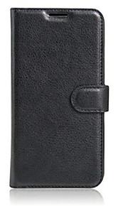 prægede kort tegnebog beslag typen beskyttelsesomslag til lg x cam mobiltelefon