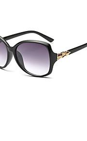 Solbriller kvinder's Mode Øjenbrunslinje Sort / Hvid / Brun / Pink / Rød / Lilla / Blåt Solbriller Full-Rim