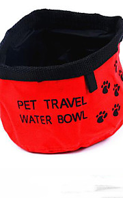 Outdoor Portable Pet Oxford Protection Water Bowls