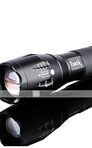 Lanternas LED LED 5 Modo 3000 lumens LumensFoco Ajustável / Prova-de-Água / Recarregável / Resistente ao Impacto / Superfície