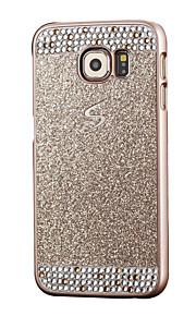 Per Samsung Galaxy S7 Edge Con diamantini Custodia Custodia posteriore Custodia Glitterato PC SamsungS7 edge / S7 / S6 edge / S6 / S5 /