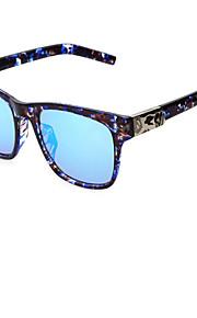 Solbriller mænd / kvinder / Unisex's Moderne / Mode Øjenbrunslinje Sort / Brun / Leopard Solbriller Full-Rim