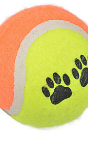 Dog Pet Toys Ball Tennis Ball Random Color Rubber