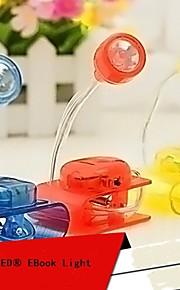 mlsled® kreativ klipp hvitt lys ledet liten bordlampe husholdning nattlys dataskjerm lys (assorterte farger)