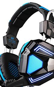 draadloze hoofdtelefoon (hoofdband) voor computer