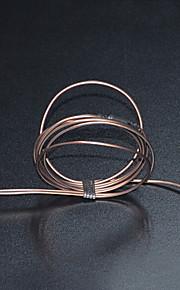 de fixação do cabo de fones de ouvido