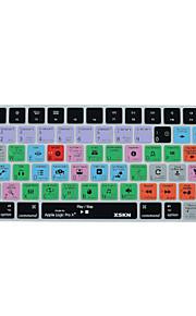 xskn logica pro x 10.2 scorciatoia pelle della copertura della tastiera del silicone per la versione della tastiera magica 2015, noi il