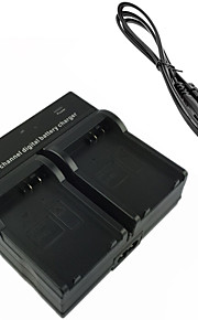lpe8 bateria da câmera digital carregador duplo para Canon EOS 700D 650D 600D 550D