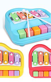 bebê 5-note brinquedo xilofone musical (3 cores enviar ao acaso)