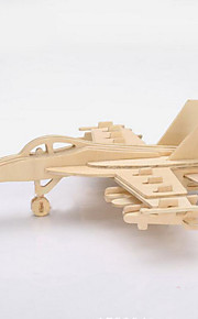 3D Puzzles  Wooden Three-Dimensional Jigsaw Puzzle Diy Children'S Educational Toys F-18S Model