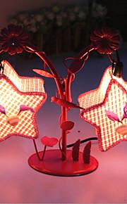 creatieve twee pentagram lamp slaapkamer bedlampje verlichting lampen van de europese romantische persoonlijkheid gift (willekeurige