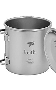 Kai Si Ti3205 Outdoor Camping Ultra Light Titanium Cup