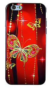 "Ruby Butterfly IMD Printed TPU Soft Back Cover for iPhone 6Plus/6SPlus 5.5""(Assorted Colors)"