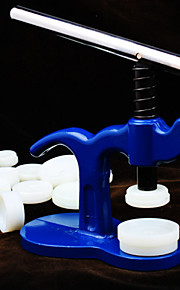 assistir máquina de nivelamento pressionando pressão da máquina tampa do medidor cama tie ferramenta
