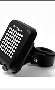 Bike Rear Light/Bicycle Laser Lights Brake Light/ Intelligent Automatic Wireless Bicycle Signal Light/AA Battery