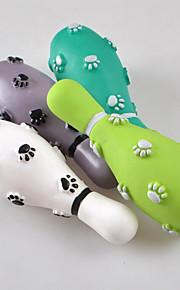 Hundar Leksaker Tuggleksaker Hållbar Gummi Svart / Grön / Grå