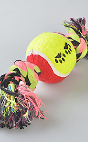 Cães Brinquedos Brinquedos para roer Doce Téxtil Arco-Íris