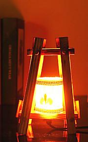 creatieve hout de piramide container decoratie bureaulamp slaapkamer lamp cadeau voor kind