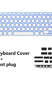 "nieuwste keyboard film en anti-stof stekkers universeel voor macbook pro 13 / ""15"" met Retina display / Air 13 """