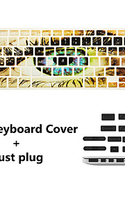 "nyeste tastatur film og anti-støv plugger universell for MacBook Pro 13 / ""15"" med retina / air 13 """
