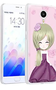 energía ximalong la cáscara del teléfono chica relieves pintados aplican para mei zu nota m3