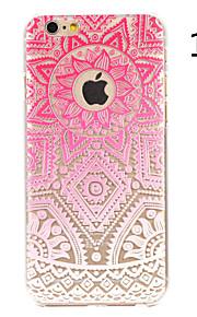 """mandala blomst malt mønster hard plast tilbake dekke for iphone6plus / 6splus 5,5 """""""