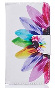 farverige kronblade mønster kort telefon dækning for lg K7 / k10